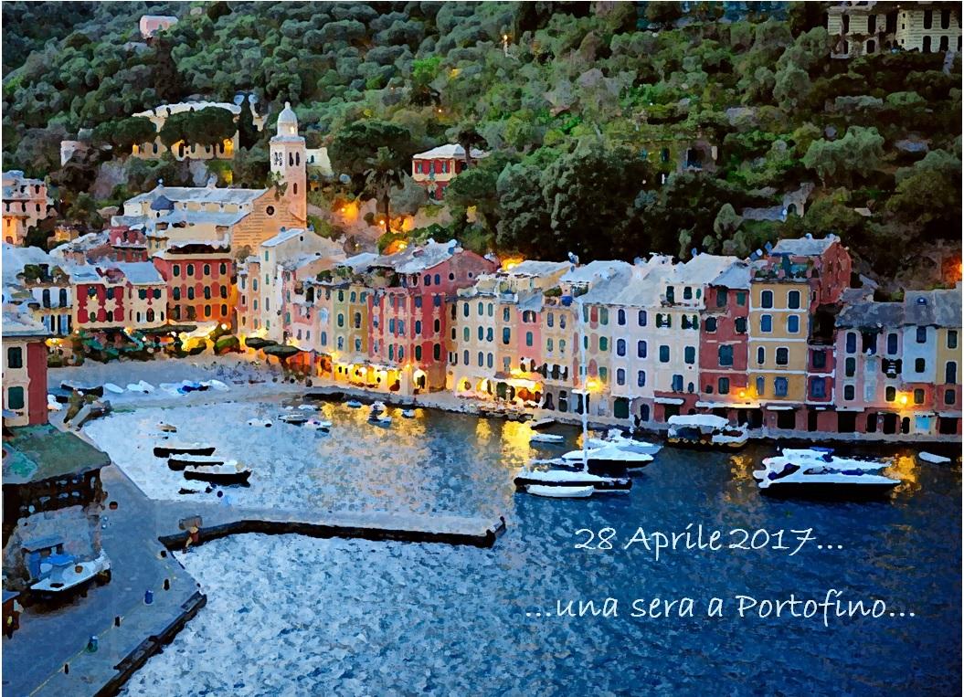 …una sera a Portofino…
